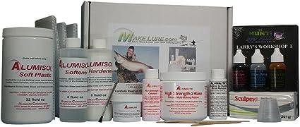 Alumilite Hard Lure Bait Kit