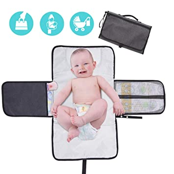 Antibacterial /& Hypoallergenic Bamboo Changing Pad Liners Special NO-SLIP 3-Layer Design PANDA PADS PREMIUM REVERSIBLE 3-PACK Great Gift! Machine Wash /& Dry Ultra Soft /& Absorbent Waterproof