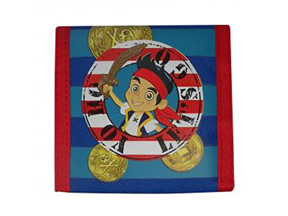 Jake und die Nimmerland Piraten GELDBÖRSE, Portemonnaie Geldtasche Portmonee (n5981)