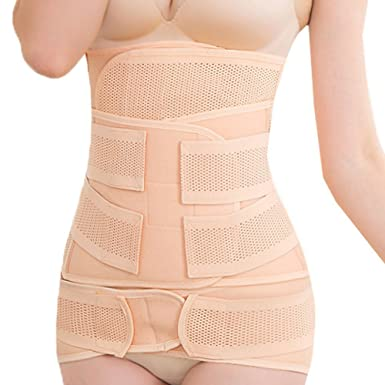 e8f6e17496 Image Unavailable. Image not available for. Color  Beliona 3 in 1 Maternity  Belly Bands after Pregnancy Waist Belt ...