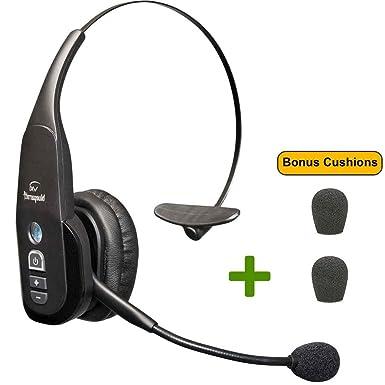 VXI BlueParrott B350-XT - Auriculares Bluetooth 203475 Bonus Mic Cojines - NFC habilitado -
