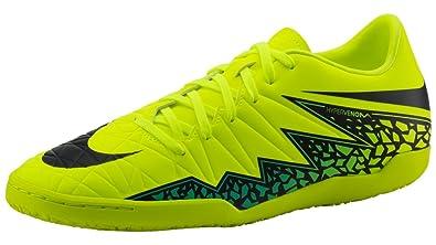 f19a51d39a0b Nike Hypervenom Phelon IC Volt Black HyperTrq Shoes - 7.5A