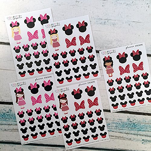 Amazon.com: Minnie Mouse Inspired, DISNEY inspired, Mickey ...