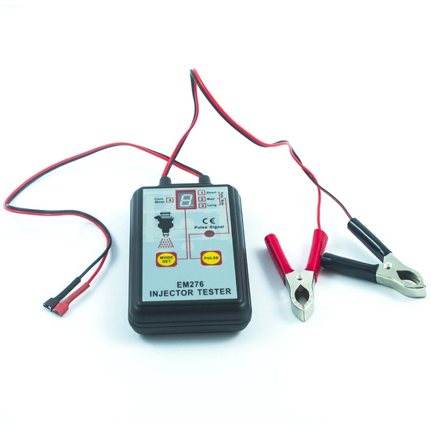 GEPCO Advanced Technology Petrol 12V Electronic Fuel System and Fuel Injector Pressure Tester LED Display