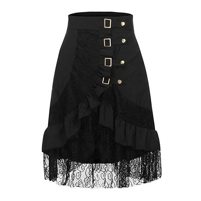 Faldas Medievales para Mujer Fiesta Elegante Vintage/💖QIjinlook ...