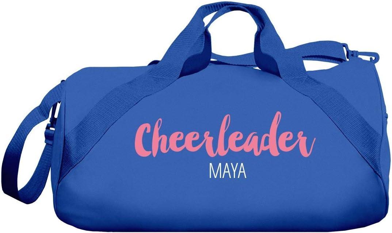 Cheerleader Duffel Maya Barrel Duffel Bag