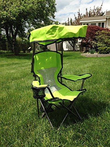 Kid's Canopy Chair Green