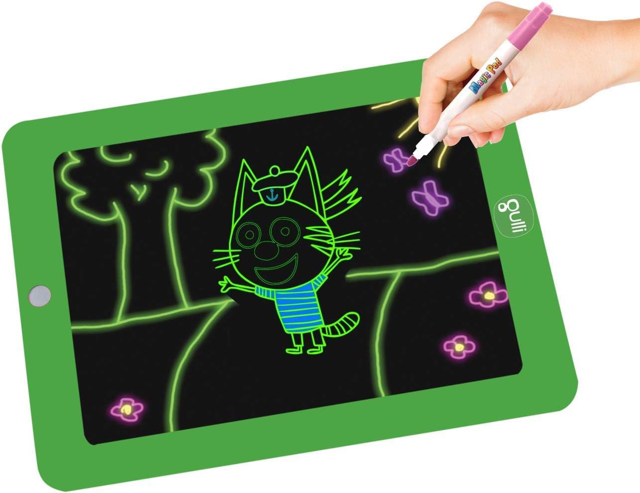 GULLI MPADG10 MAGIC PAD Tablet Magico per disegnare su 42 Stencil da 14 LA-Famille-Chat-VU alla TV