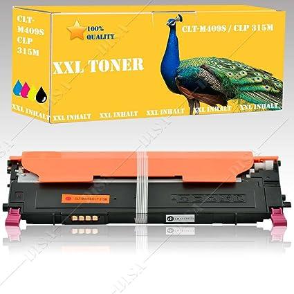1 x Toner Rojo Compatible Con Samsung CLX-3175 N/CLX-3175FN/CLX ...