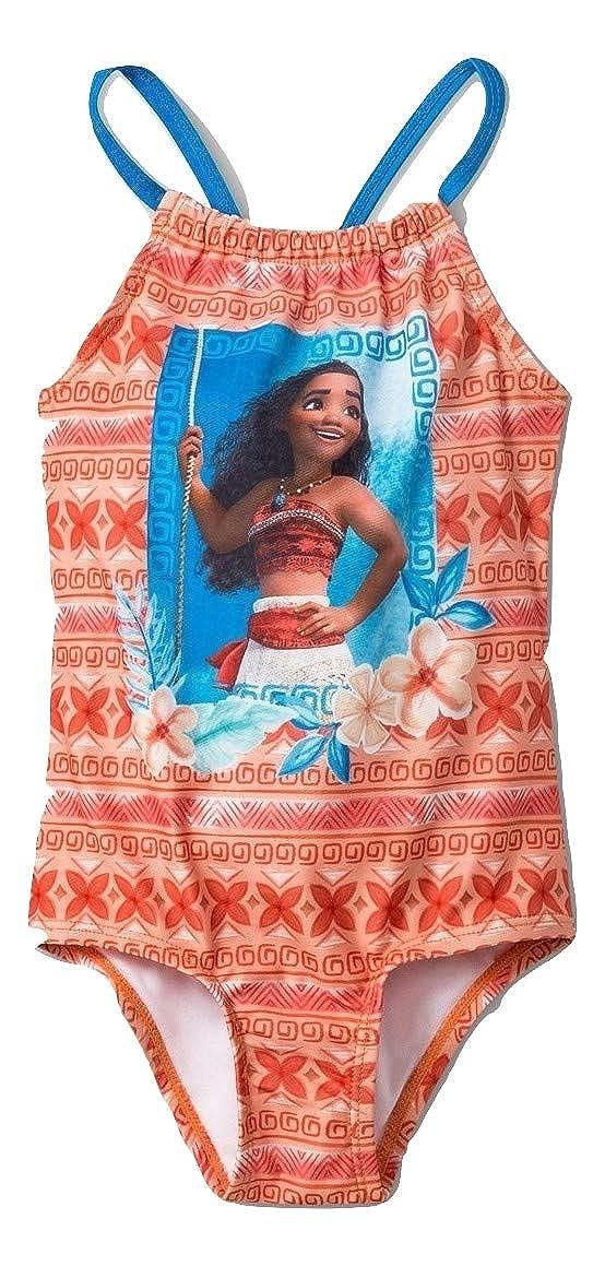 4ff491a380 Amazon.com: Moana Disney Toddler Girls One Piece Swimsuit Orange: Clothing