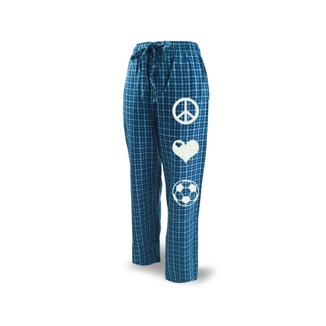 Soccer Lounge Pants Peace Love Soccer