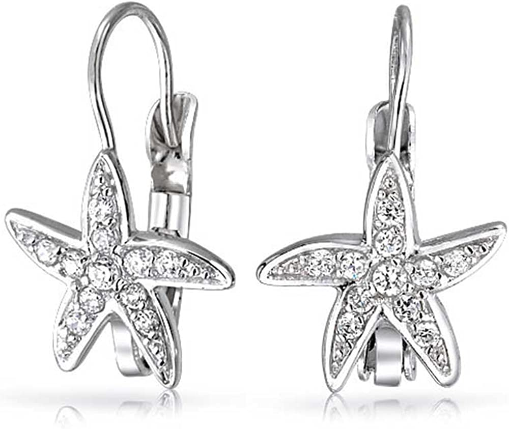 Silveraj Jewels Disney Mickey Earrings Collection 14K Gold Fn Round CZ Gift For Girls Womens