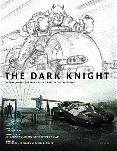 The Dark Knight: Featuring Production Art and Full Shooting Script pdf