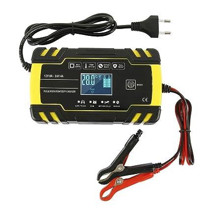 Comficent 12 V 24 V Auto batería Cargador automático de ...
