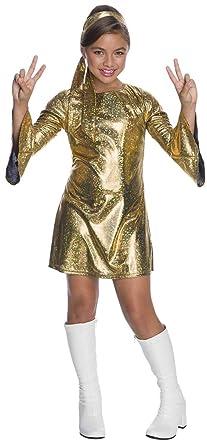Satin Disco Dress