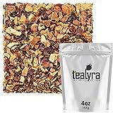 Cheap Tealyra – Honey Cardamom Spice Tea – Hibiscus – Ginger – Cinnamon – Herbal Fruity Loose Leaf Tea – Anti-Inflammatory – Wellness Hot and Iced – Caffeine-Free – 112g (4-ounce)