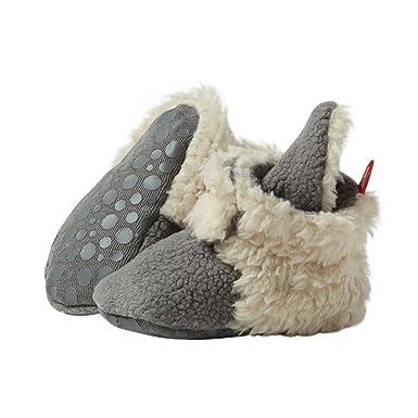3f2d381d821 Amazon.com  Zutano Boys  Cozie Fleece Baby Booties with Grippers  Shoes