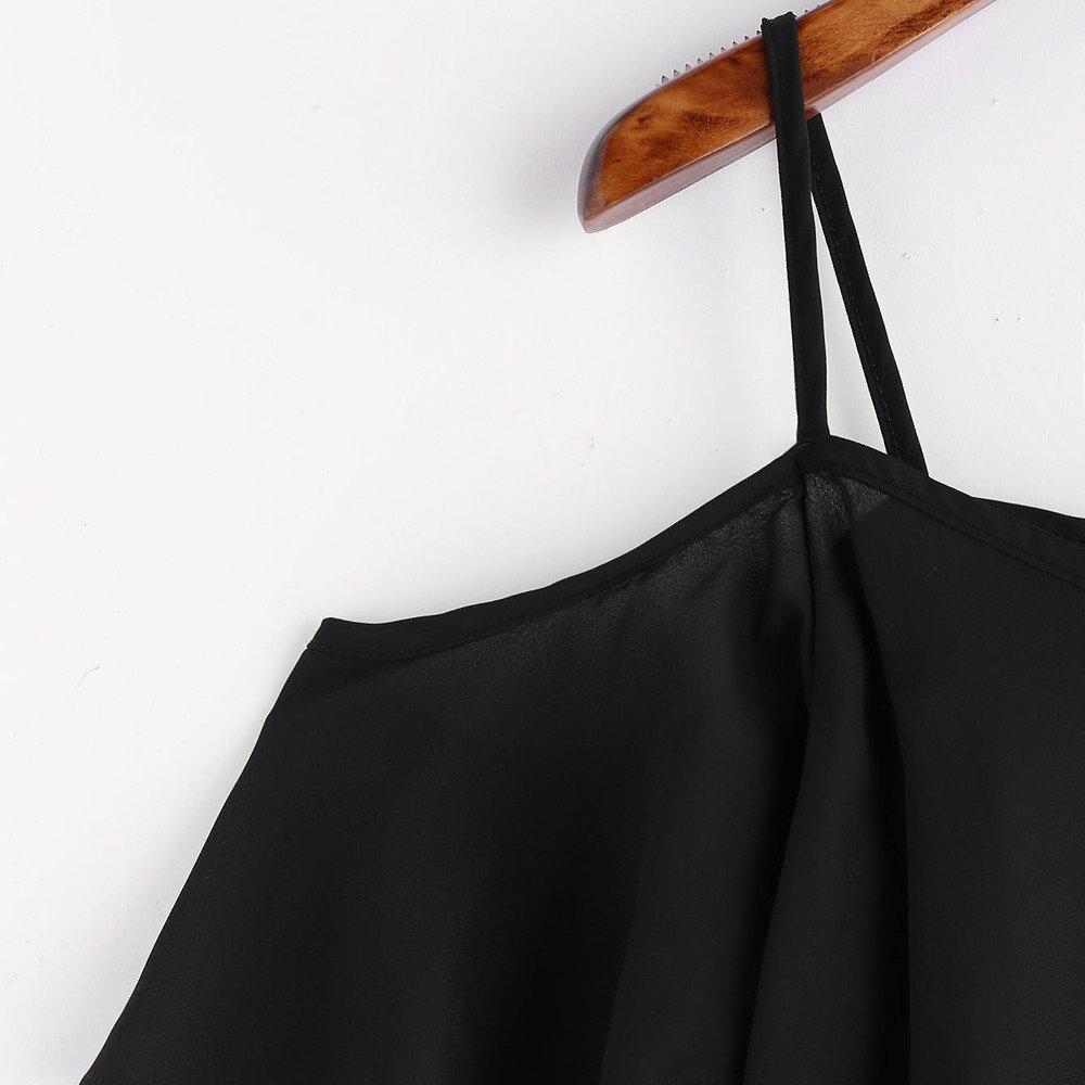 Chiffon Women Shirts Short Sleeve Casual Off Shoulder Strap Tunic T-Shirt Blouse Tops for Teen Girls at Amazon Womens Clothing store: