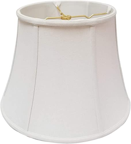 Royal Designs Modified Bell Lamp Shade, Beige, 12 x 20 x 15