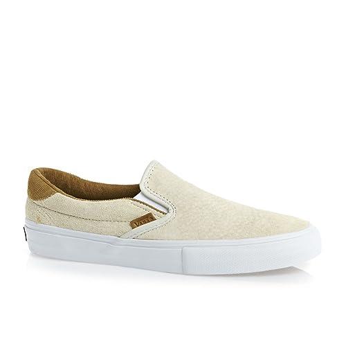 Vans Slip on 59 Pro - Mocasines de Piel para Hombre Hueso Kyle Walker White, Color Blanco, Talla 10.0: Amazon.es: Zapatos y complementos