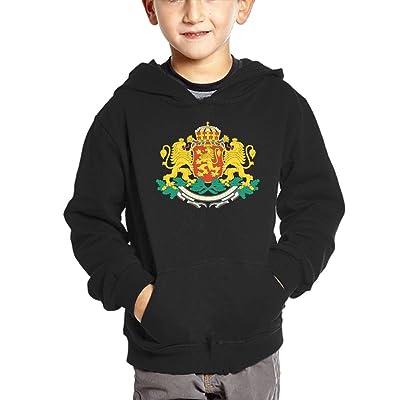 Bulgarian National Emblem Hoodies For Kids Hooded Sweatshirt Boys Sweater Girls Pullover