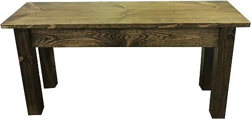 Rustic Bench 48 L