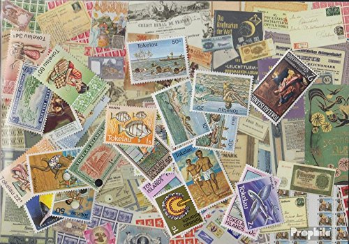 Tokelau-Islands 100 Different Stamps (Stamps for Collectors)