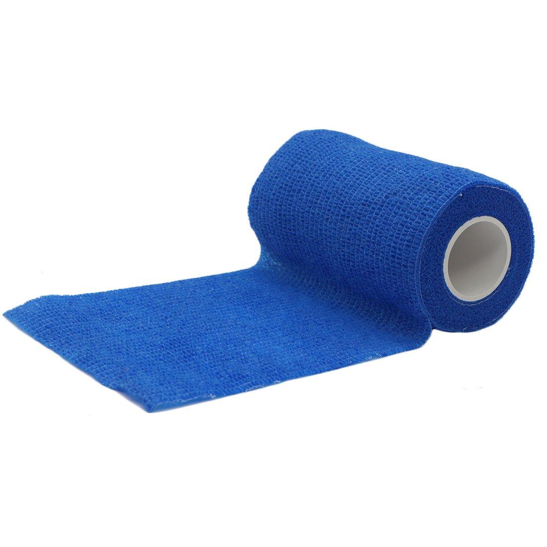 YYF Vet Tape Wrap Bulk,6'' Self Adherent Wrap Tape,Self Adhering Stick Bandage,Self Grip Roll,Stretchable Bandage Wrap Vet Tape - 6'' Inches x 15' Feet (6 Rolls,12 Rolls,18 Rolls,24 Rolls,Single Roll)