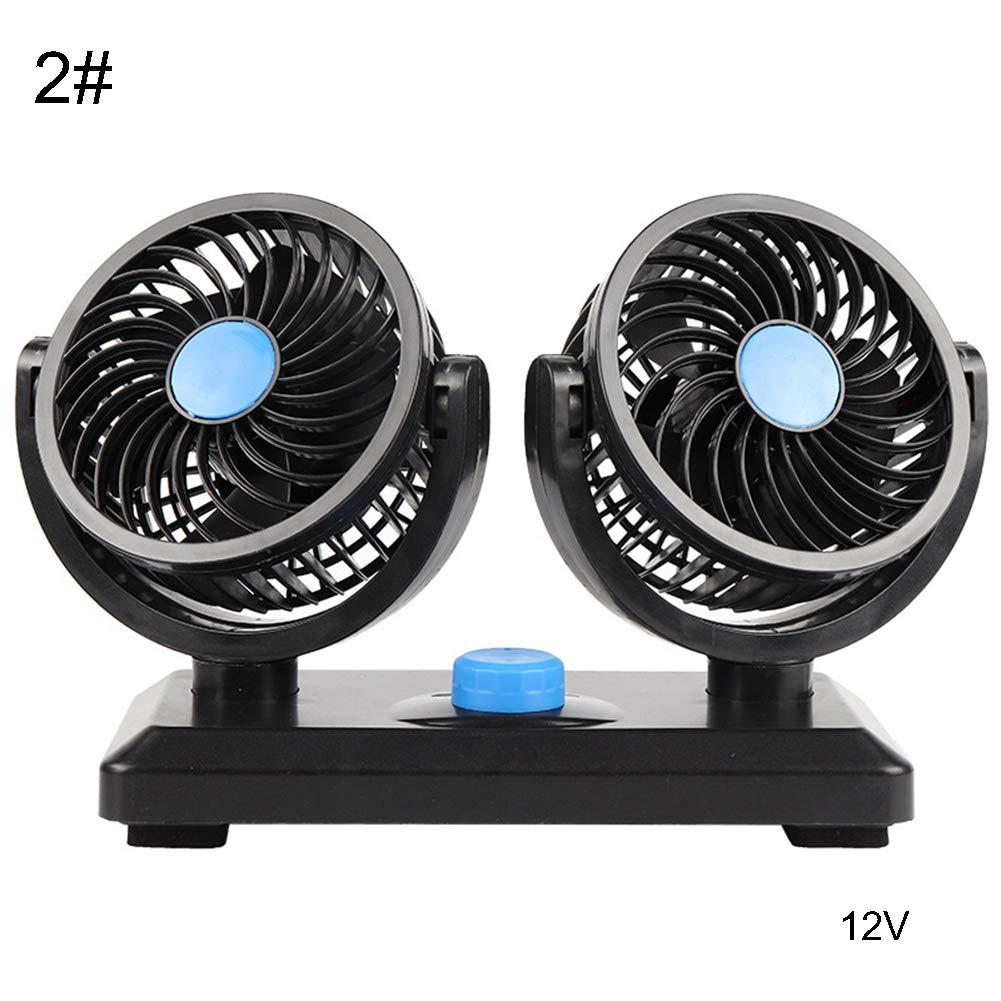 1# seawood Ventilateur dair rafra/îchissant /à 360/° pour Voiture