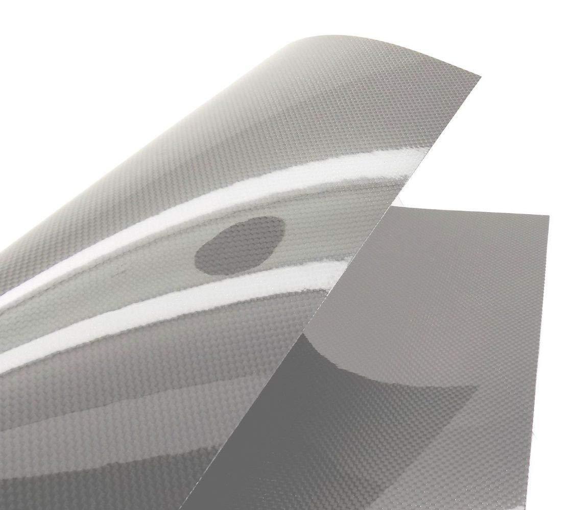 USAQ 500x400x0.3mm Pure 3k Carbon Fiber Veneer Sheet Panel Plain Weave Ultra-High Gloss by USAQ