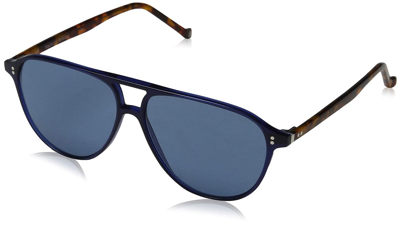 Hackett London Bespoke Gafas de Sol, Azul (Navy/Blue), 56.0 ...