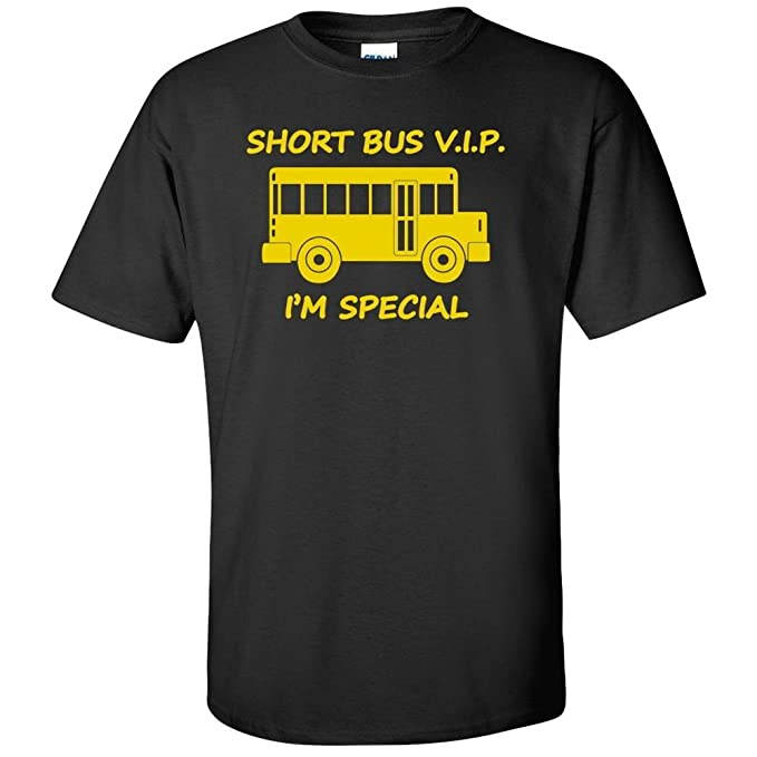 Short Bus VIP I'm Special Graphic T-Shirt