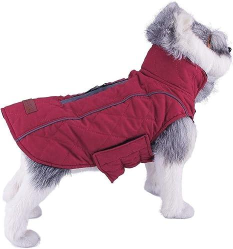 ThinkPet Warm Reversible Dog Coat