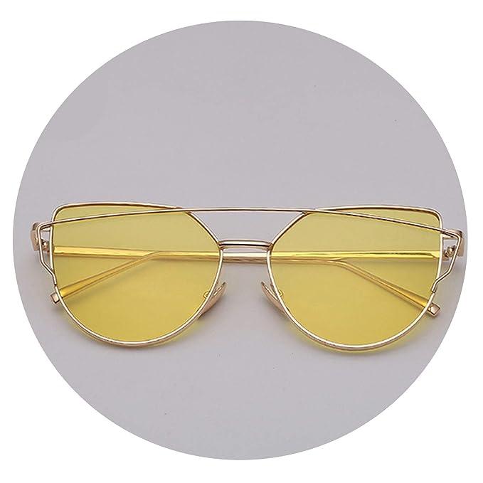 Amazon.com: Gafas de sol para mujer, estilo vintage, metal ...