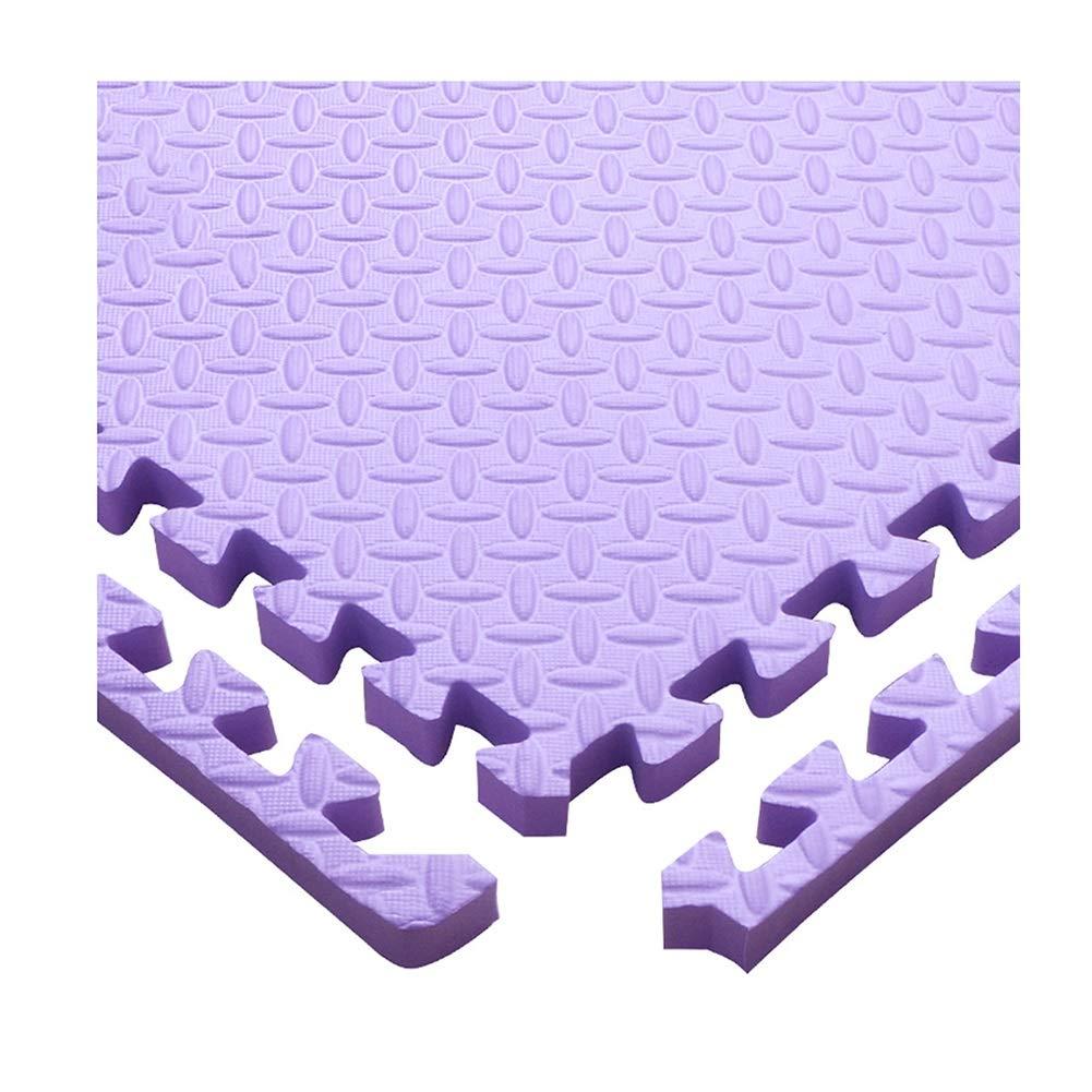 viola 32-Tiles AWSAD Tappetino Gioco Puzzle S uma Neonati con Bordo Durevole Confortevole telecamera da Letto Scuola Materna, Spessore di 2,5 Cm, 11 Coloreei, 30x30cm (Coloree   blu, Dimensione   24-Tiles)