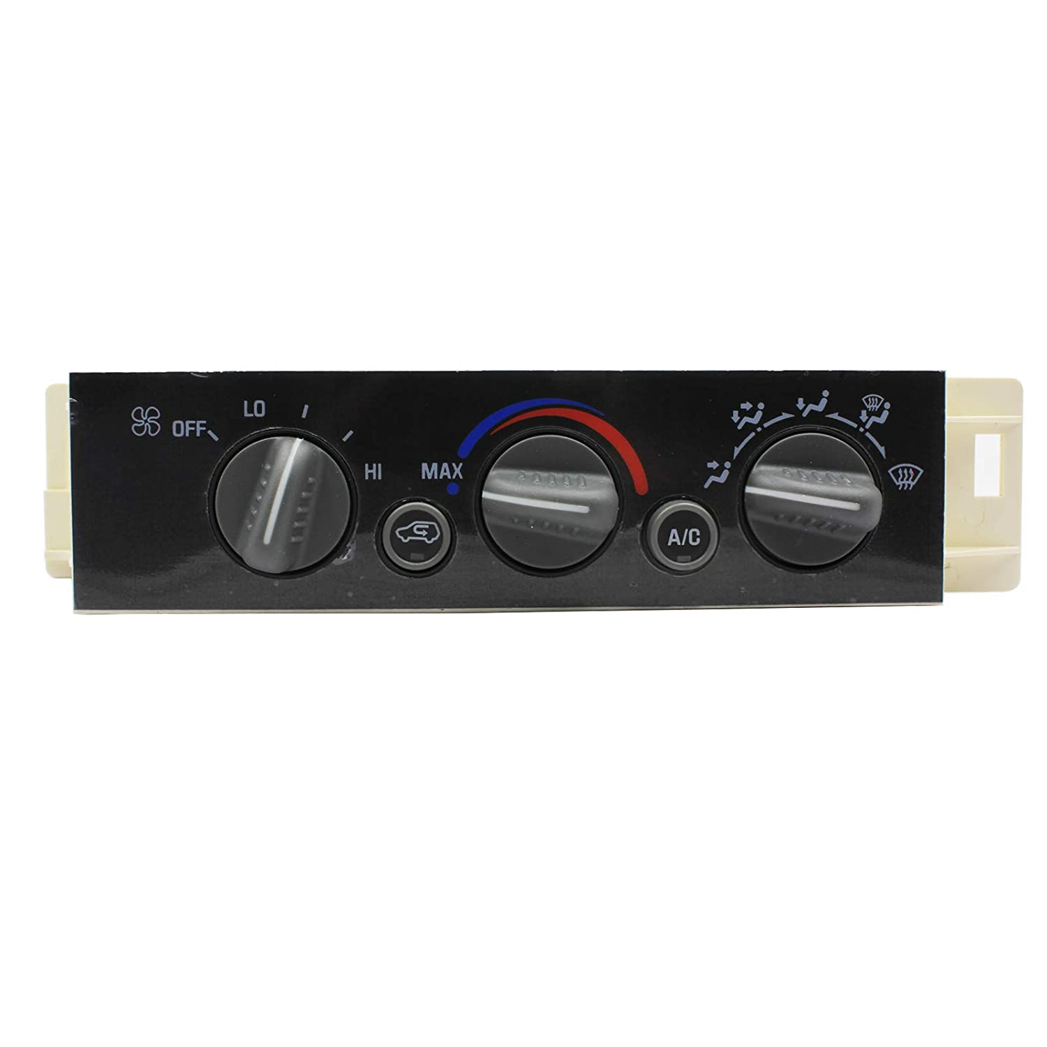 LAFORMO Heater A//C Control Panel w//o Rear Window Defogger Fits Chevy GMC Pickup Truck 9378815 599-007 16238895