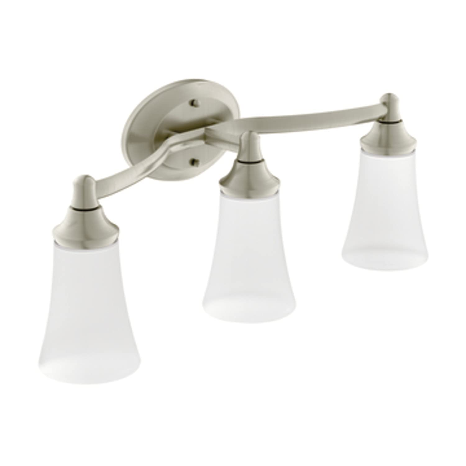 Moen YB2863BN Eva Bath Lighting Brushed Nickel Bathroom