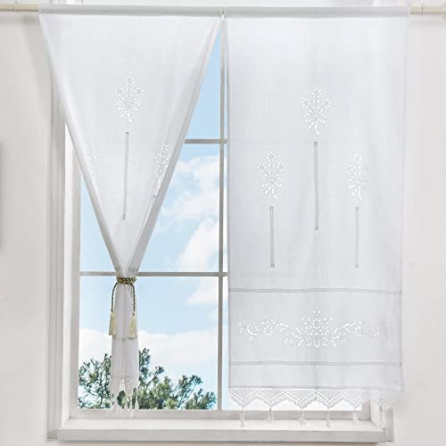 Lace Curtains Amazon: Country Lace Curtains: Amazon.com