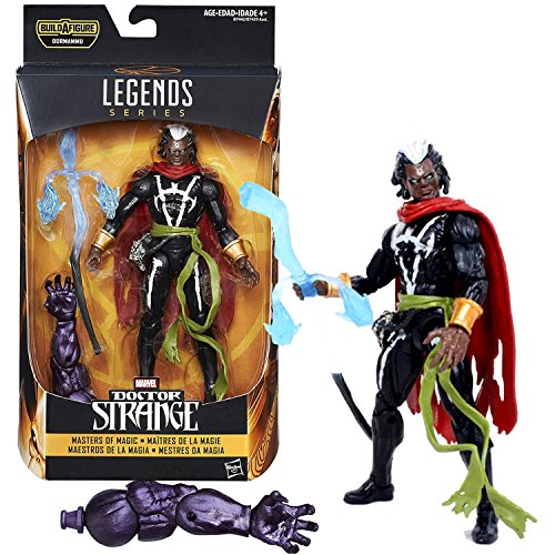 Marvel Year 2016 Legends Dormammu Series 6 Inch Tall Figure - Masters of Magic MARVEL'S BROTHER VOODOO with Staff and Dormammu's Left Arm