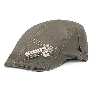 WY-Bufanda Gorra capberet algodón Primavera otoño adelante capó Bordado  Carta Sombrero e7768d3683f