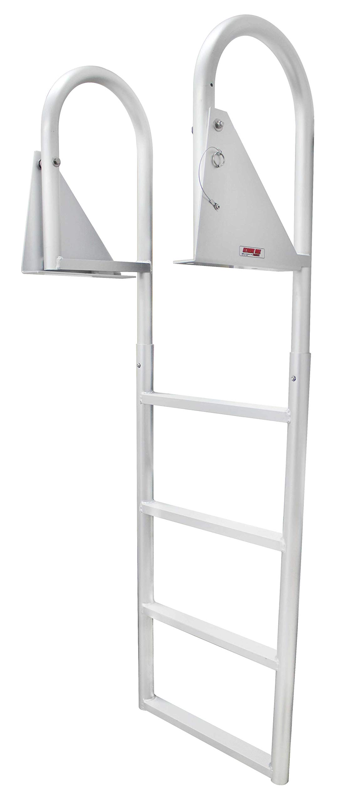 Extreme Max 3005.3473 Flip-Up Dock Ladder, 4 Step by Extreme Max