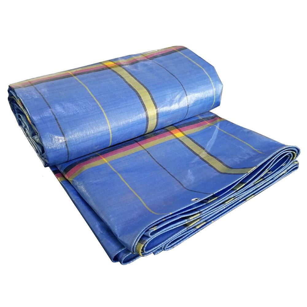 comprare a buon mercato NANFENG Telo Impermeabile Resistente, Telo Blu Telo di di di qualità Premium Telo Antipioggia per Barca Telo da Giardino all'aperto Tenda da Sole, 250 g m², 0,45 mm,3  4M  compra meglio