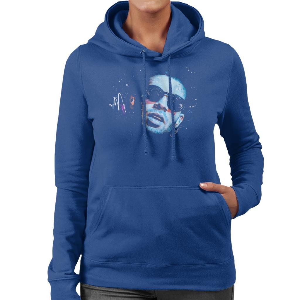 Sidney Maurer Original Portrait of Drake Sunglasses Women's Hooded Sweatshirt
