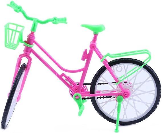 Bicicleta juguete plástico bicicleta niños moda desmontable muñeca ...