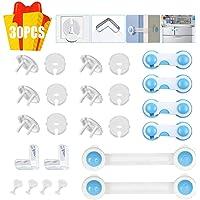 30 PCS Kits de seguridad para bebés, cierres