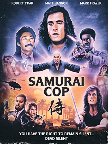 Amazon.com: Samurai Cop: Matt Hannon, Mark Frazer, Robert
