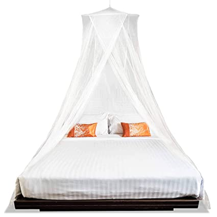 MEKKAPRO Extra Large King Mosquito Bed Net, Made For King Queen And Twin,
