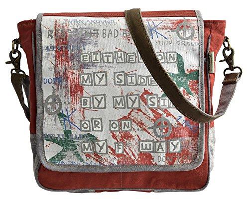 Bolso de compra señora Sunsa Canvas Bolso de hombro bolso de mano hecho de tela
