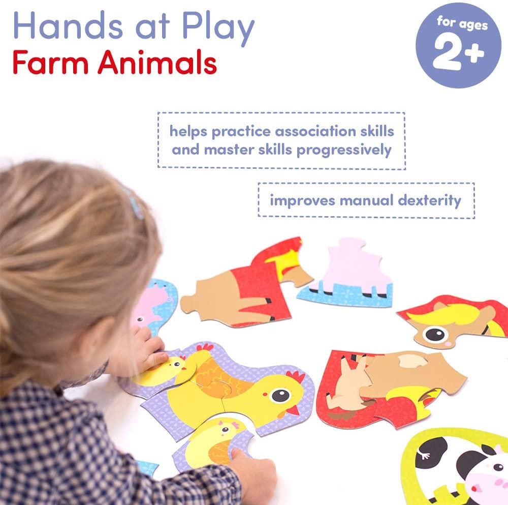 Hands at Play Farm Animals Age
