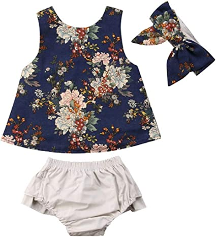 Wang-RX Toddler Kids Baby Girls Mono del Mameluco Outfit Ropa ...